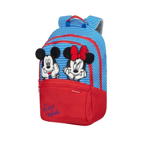 SAMSONITE Dětský batoh Disney Ultimate 2.0 Minnie/Mickey Stripes, 30 x 16 x 42 (131851/8705)
