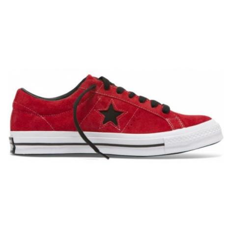 Converse ONE STAR červená - Pánské nízké tenisky