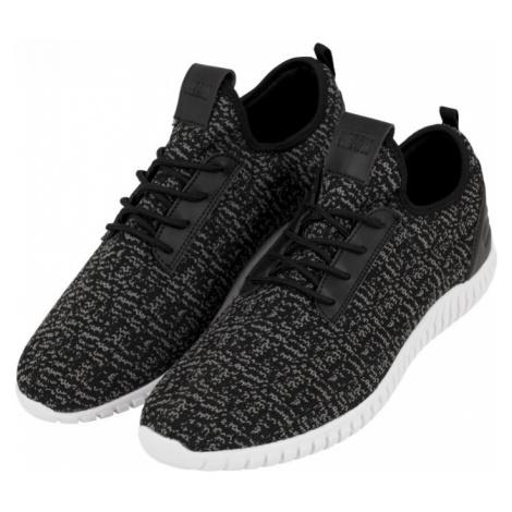 Knitted Light Runner Shoe - black/grey/black Urban Classics