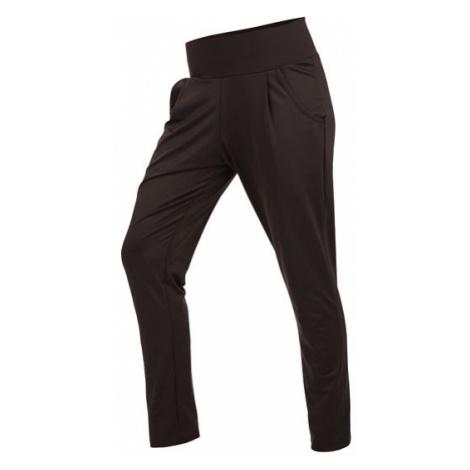 Dámské kalhoty Litex 7A430 nízký sed | černá