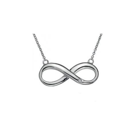 Hot Diamonds Stříbrný náhrdelník Hot Diamonds Infinity