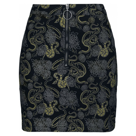 Banned Alternative Sukně Slither Mini sukně černá