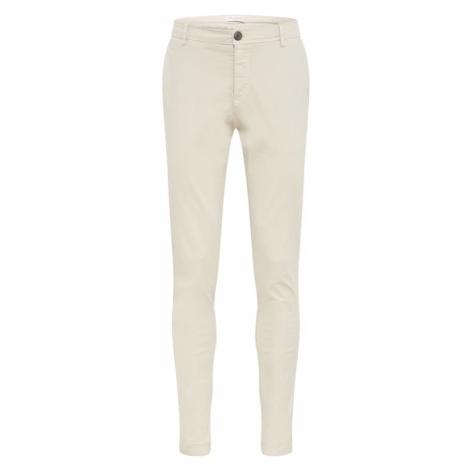 SELECTED HOMME Chino kalhoty béžová