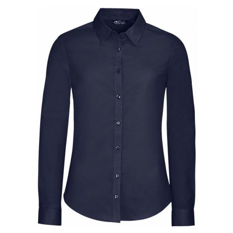 SOĽS Dámská košile dlouhý rukáv BLAKE WOMEN 01427228 Dark blue SOL'S