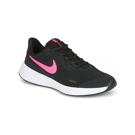 Nike REVOLUTION 5 GS Černá