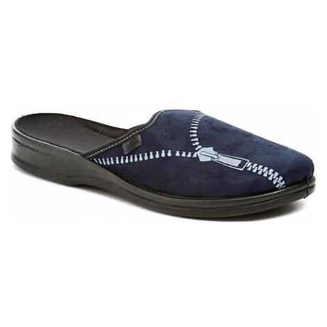 Befado 089M377 modrá pánské papuče