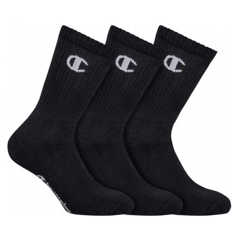 Ponožky UNISEX Champion 8QG 3PACK černá | černa