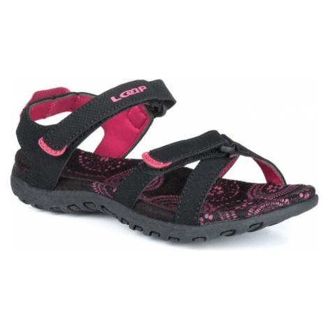 LOAP SIMMA jr Dětské sandály GSU1951V11J černá/červená