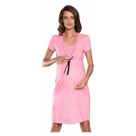 Italian Fashion Mateřská noční košile Kalini růžová