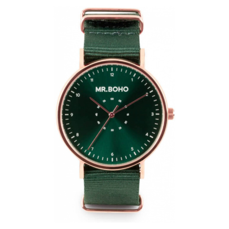 Mr. Boho Metalic Casual Copper Green