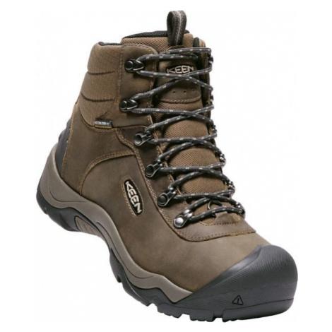 Keen REVEL III M GREA hnědá - Pánská zimní obuv