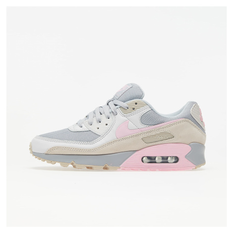 Nike Air Max 90 Vast Grey/ Pink-Wolf Grey-String