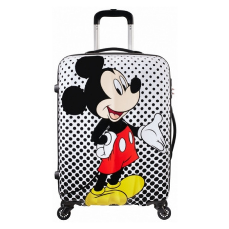 Cestovní kufr American Tourister DISNEY LEGENDS SPINNER 65/27 Mickey Mouse Polka Dot 64479-7483