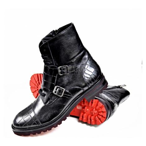 RICHMOND BLACK LABEL Uomo Nero kotníkové boty