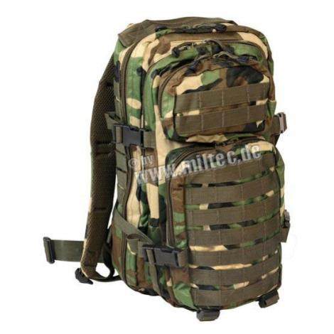 Vojenský batoh US ASSAULT PACK small Mil-Tec® - woodland Mil-Tec(Sturm Handels)