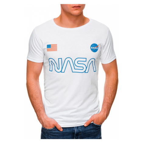 Inny Bílé tričko s potiskem NASA S1437