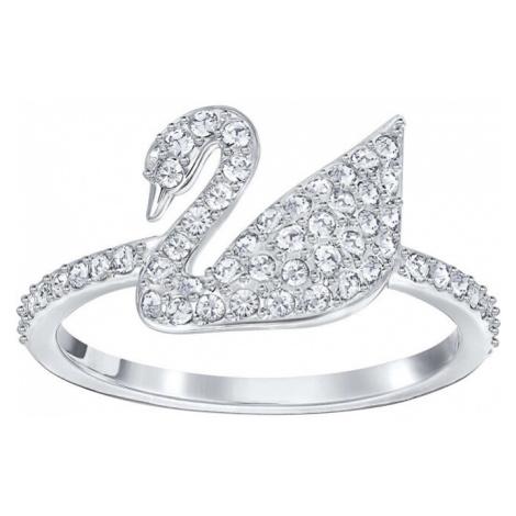Swarovski Luxusní prsten s labutí SWAN