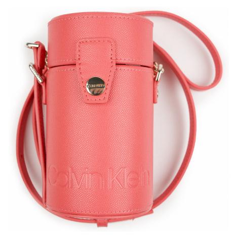 Calvin Klein malá korálová kabelka Drum Cylinder Crossbody CAV