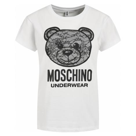Bílé tričko - MOSCHINO