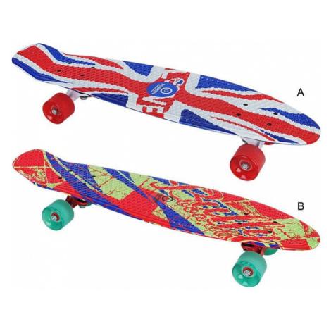 Pennyboard BUFFY 28'' UNIQUE skateboard varianta B: červená-modrá-zelená Tempish