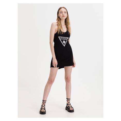 Šaty Guess Černá