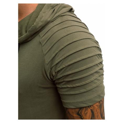 Buďchlap Zelené tričko s kapucí A/1186