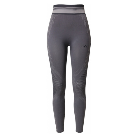 ONLY PLAY Sportovní kalhoty 'MERETA' grafitová / chladná modrá / světle šedá