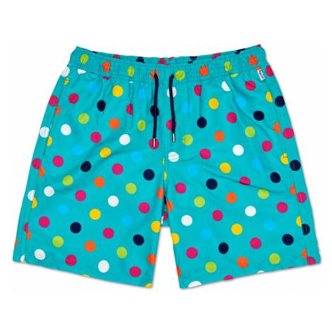 Big Dot Long Swim Shorts Happy Socks