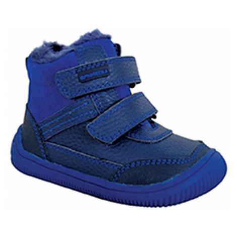 obuv chlapecká zimní barefoot TYREL BLUE, Protetika, modrá
