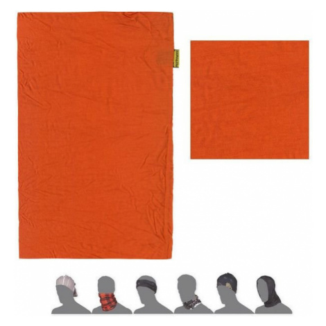 Multifunkční šátek SENSOR Tube Merino Air tmavě oranžová