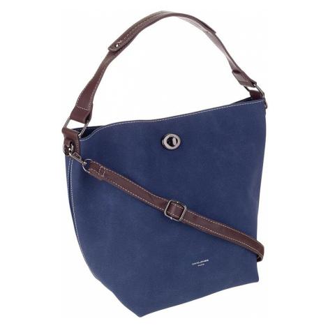 David jones® modrá dámská crossbody kabelka