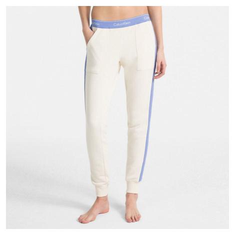 Bílo-modré tepláky Modern Cotton Jogger W/Rib Calvin Klein