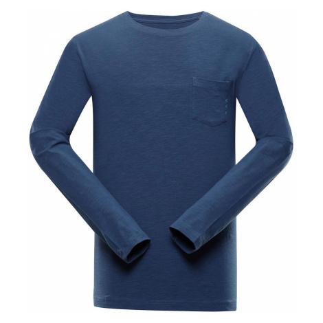 ALPINE PRO MEGAN Pánské triko s dlouhým rukávem MTSS528684 blue wing teal