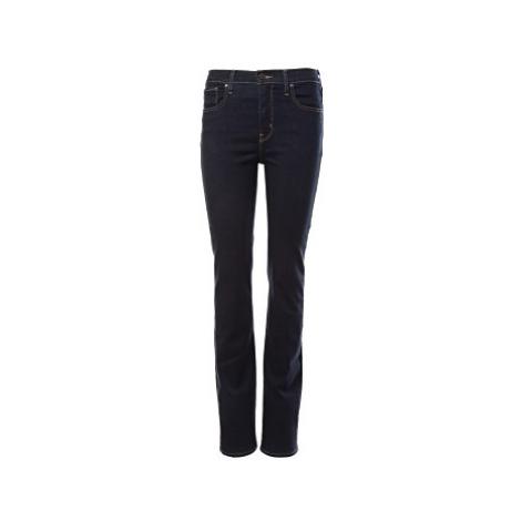Levi´s® jeans 724 High Rise Straight dámské tmavě modré