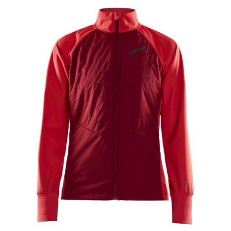 Craft STORM BALANCE červená - Dámská zimní bunda na běžky