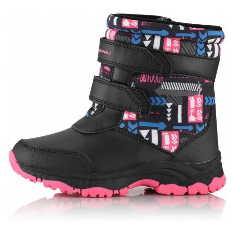 Dětské zimní boty Alpine Pro VOLOSO - růžová