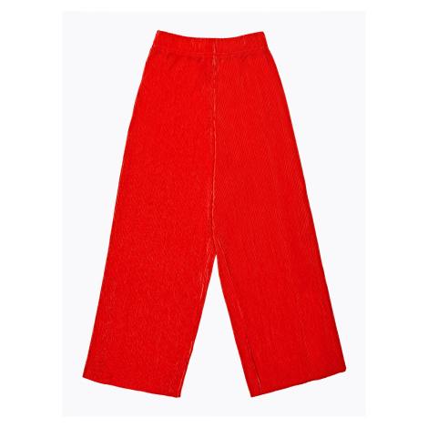GATE Skládaná kalhotová sukně