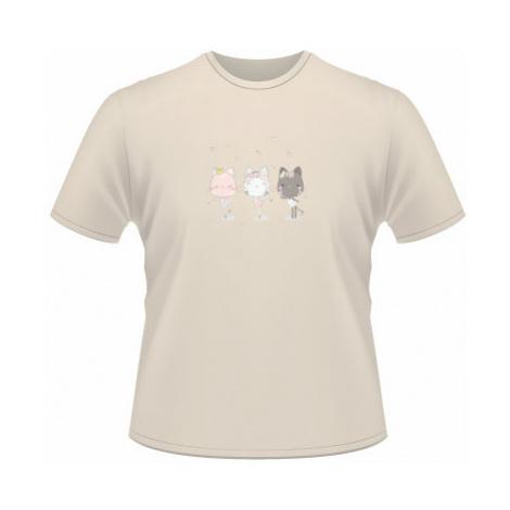 Pánské tričko na tělo Tancující kočičky