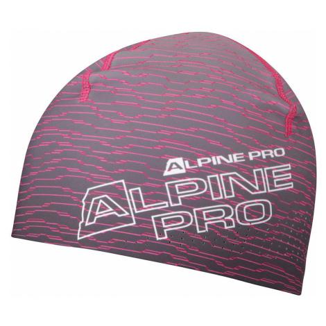 ALPINE PRO PERFEX Unisex sportovní čepice UHAS077452 růžová UNI