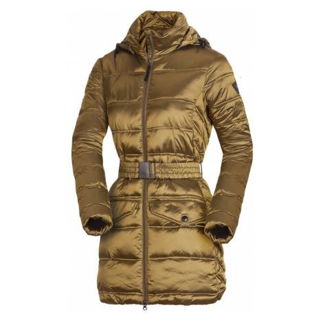 NORTHFINDER PRIJANA Dámský kabát EXTRA SIZE BU-46841SP314 zlatá