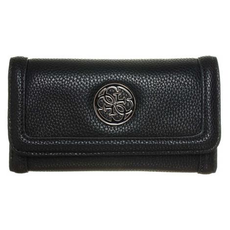 Guess Enamel Quattro G Slim Clutch peněženka