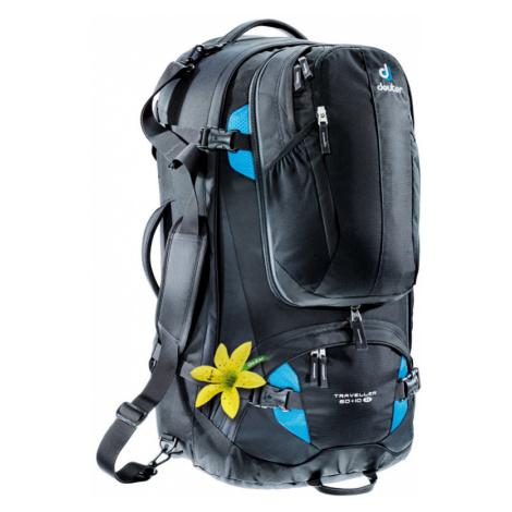 Batoh Deuter Traveller 60 + 10 SL black-turquoise