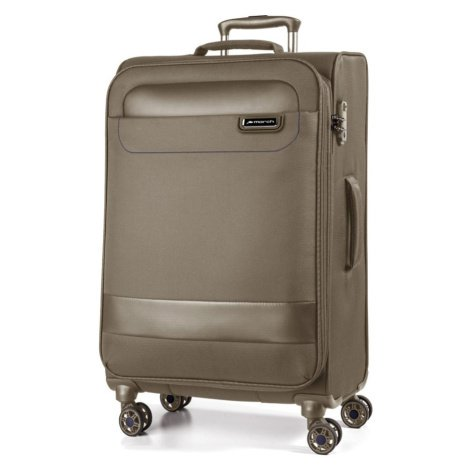 March Látkový cestovní kufr Tourer 104 l - kaschmir - khaki