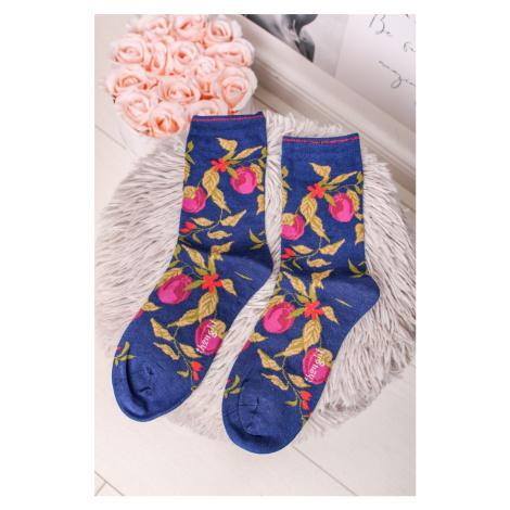 Modro-zelené ponožky Frutta Socks Thought