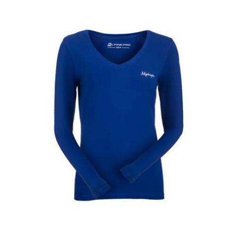 Dámské triko Alpine Pro DALILA 3 - tmavě modrá