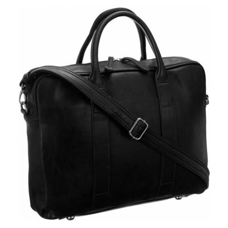 Kožená kabelka na rameno taška na notebook Rovicky 15.6