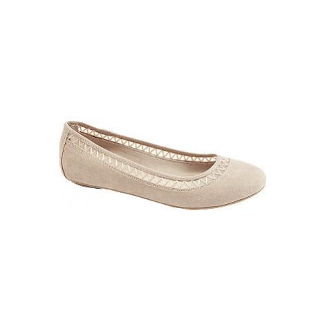 Béžové baleríny Graceland