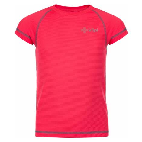 KILPI Dívčí funkční triko TECNI-JG KJ0075KIPNK Růžová