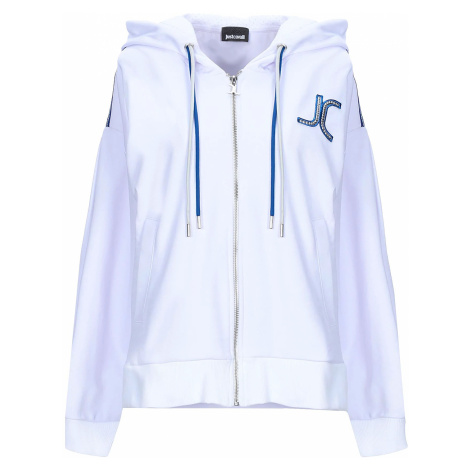 JUST CAVALLI JC Logo White mikina