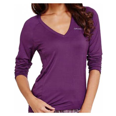 Calvin Klein dámské triko S2659E fialové - Fialová